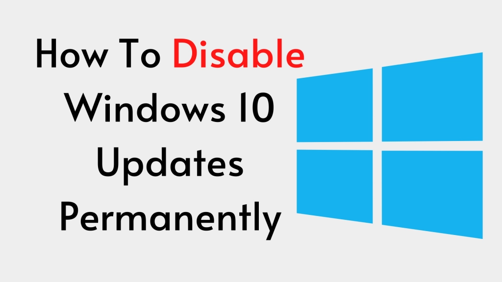 disable the Windows 10 update permanently